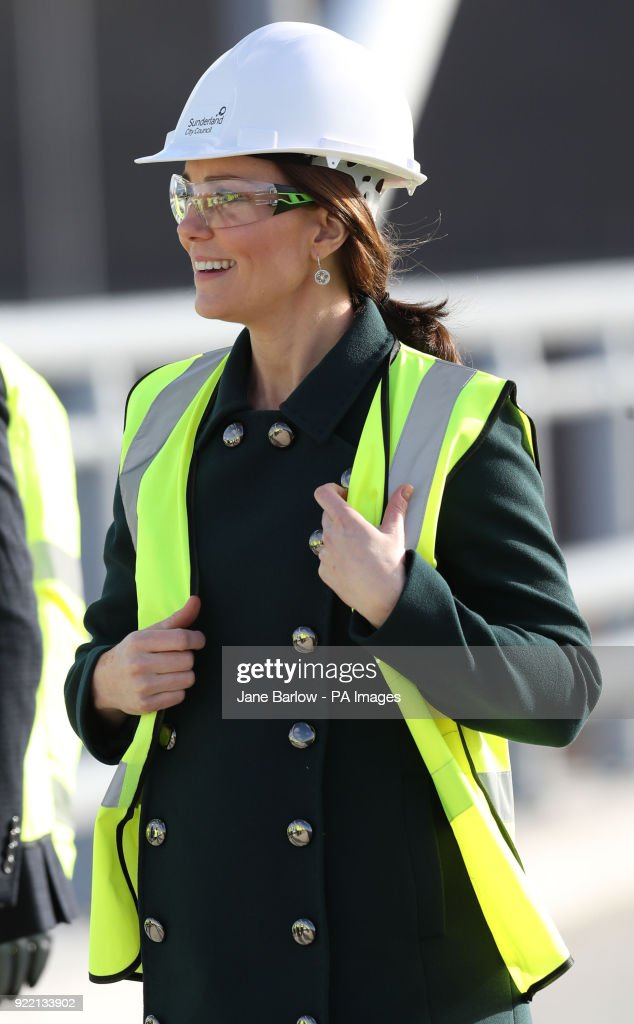 Royal visit to Sunderland : News Photo