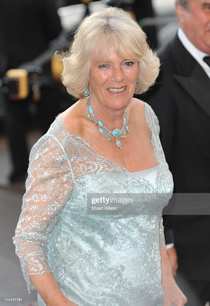 The Duchess Of Cornwall arrives at The Classic BRIT Awards at Royal Albert Hall on May 12, 2011 in London, England.