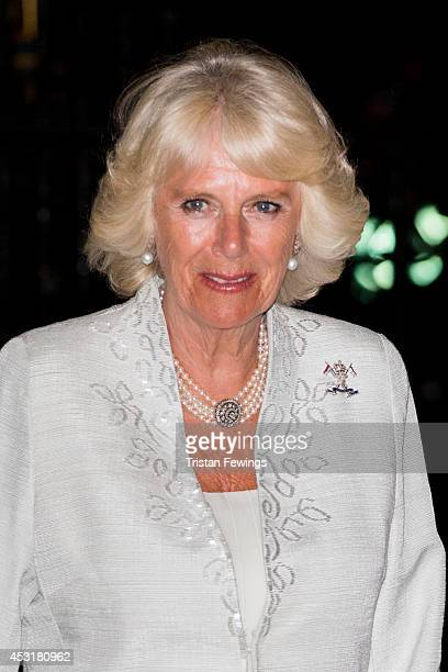 The Duchess Of Cornwall attends The Vigil Of Prayer Service at Westminster Abbey on August 4 2014 in London England Monday 4th of August marks the...