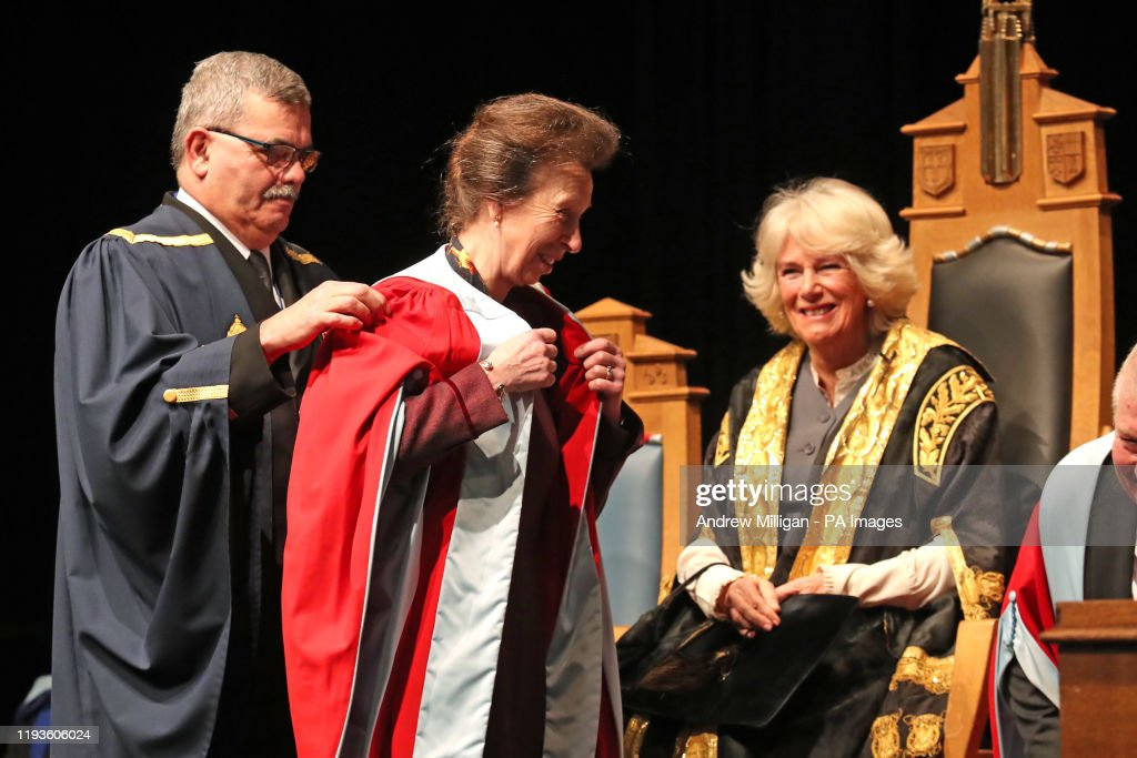 Princess Royal honorary degree : News Photo