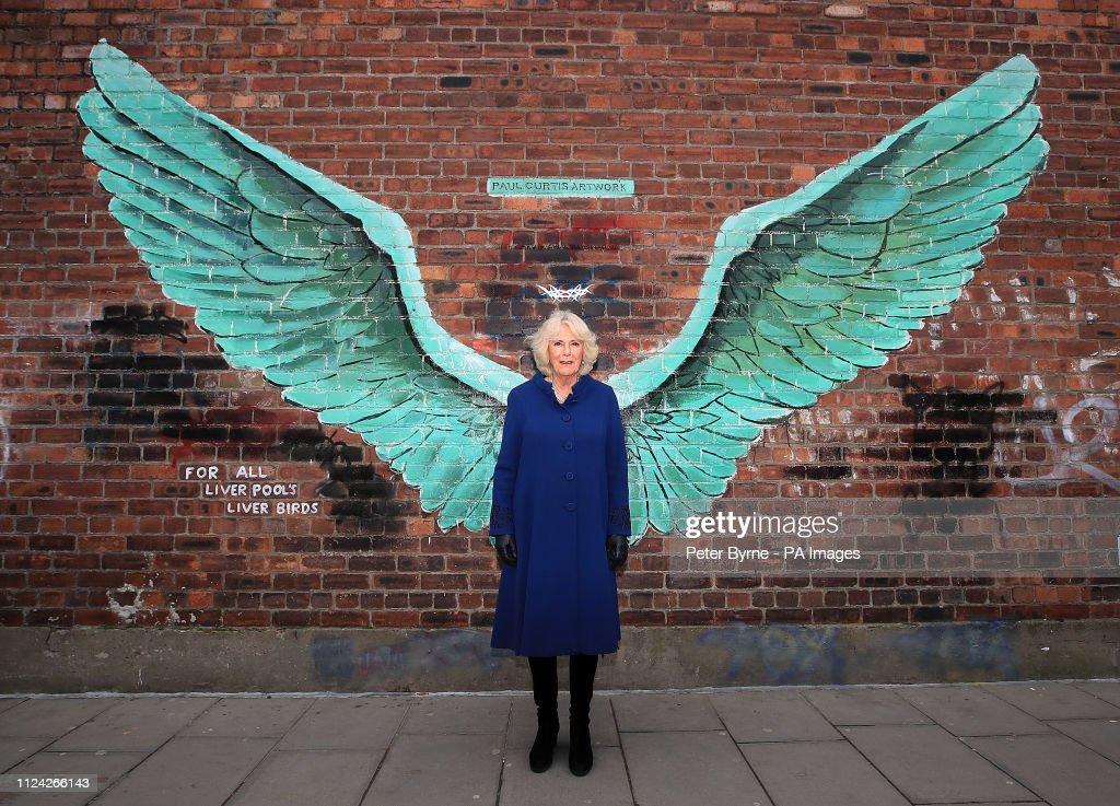 Royal visit to Liverpool : News Photo