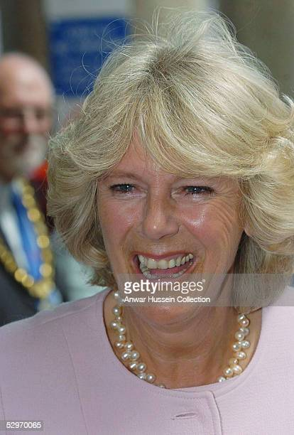 The Duchess of Cornwall undertakes her first solo engagement as President of the National Osteoporosis Society visiting Southampton Hospital's...