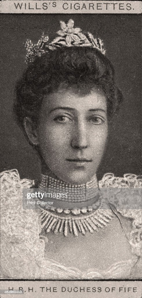 H.R.H The Duchess of Fife, 1908.Artist: WD & HO Wills : News Photo
