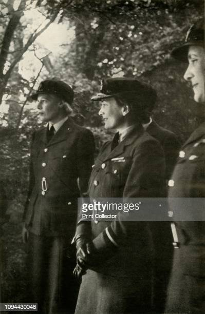 The Duchess of Gloucester, Air Commandant', circa 1943. Princess Alice, Duchess of Gloucester was appointed Senior Controller of the Women's...