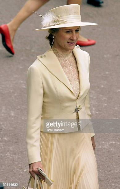 The Duchess Of Gloucester At The Royal Ascot Races.