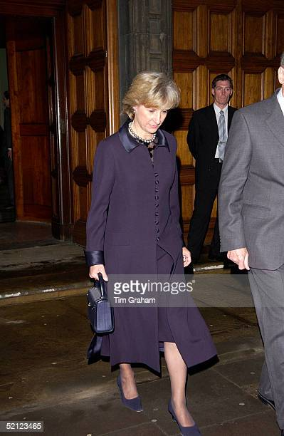 The Duchess of Gloucester at the V A for a reception to launch the exhibition 'Style and Splendour Queen Maud of Norway's Wardrobe 18961938' part of...