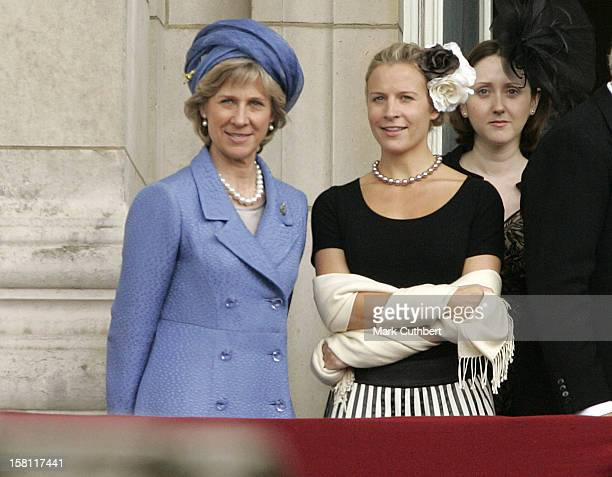 The Duchess Of Gloucester Attend The 2007 Trooping Of The Colour Ceremony In London