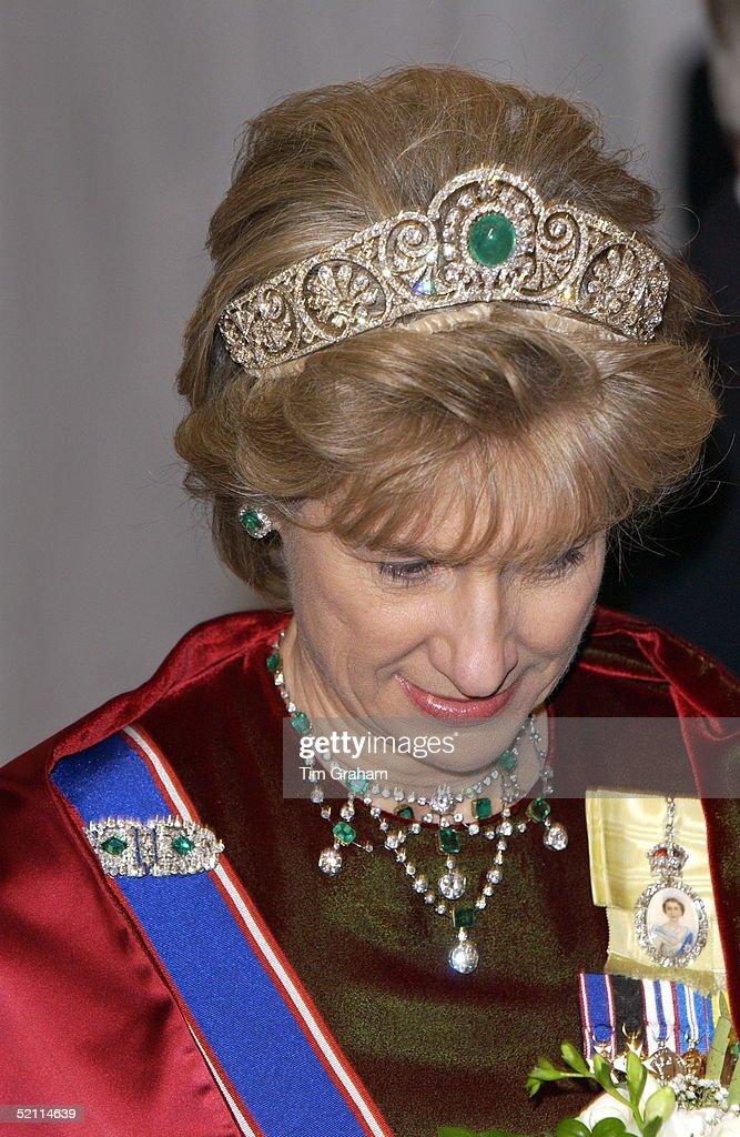 Duchess Of Gloucester State Banquet : News Photo