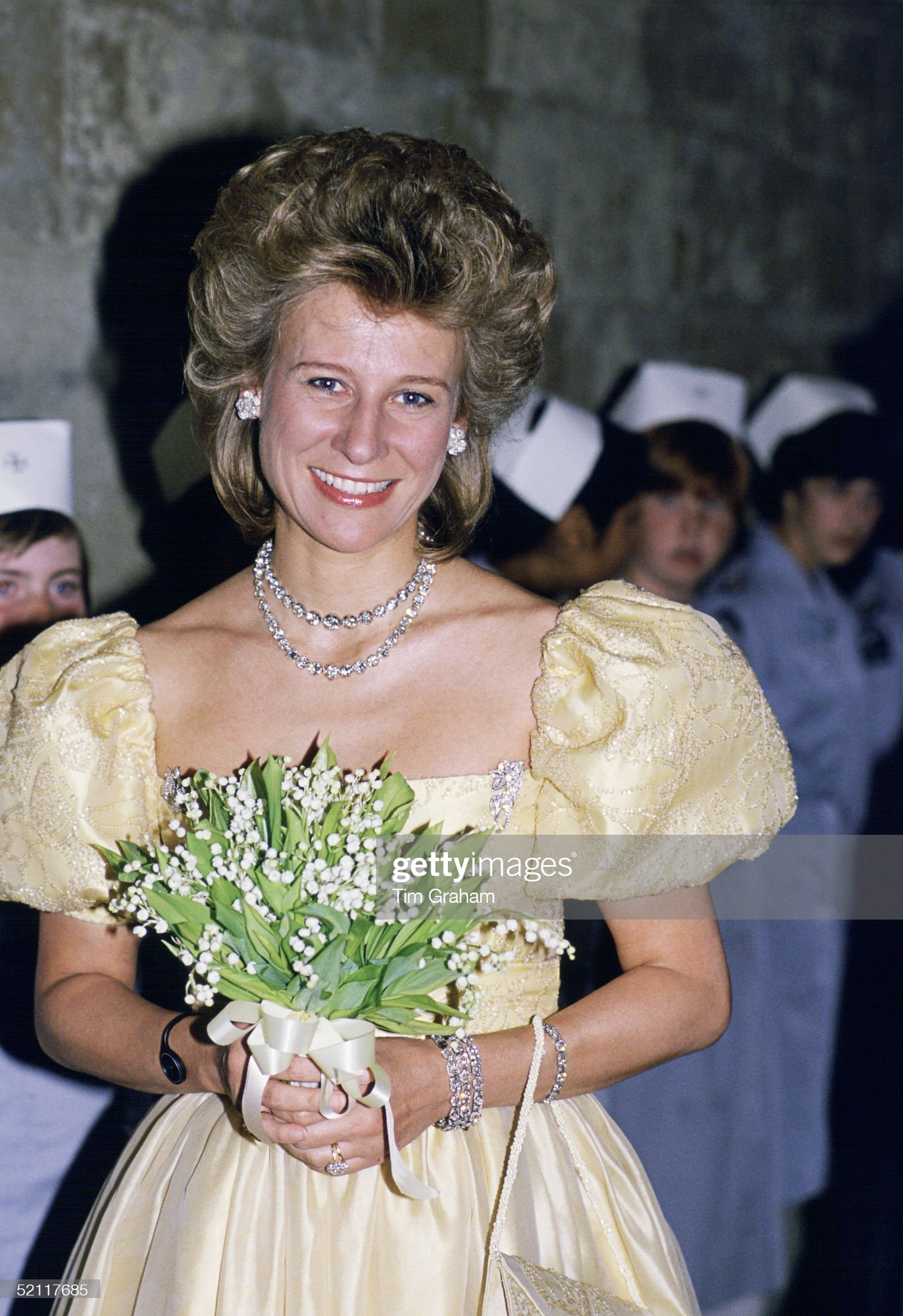 Duchess Of Gloucester At Hampton Court : News Photo
