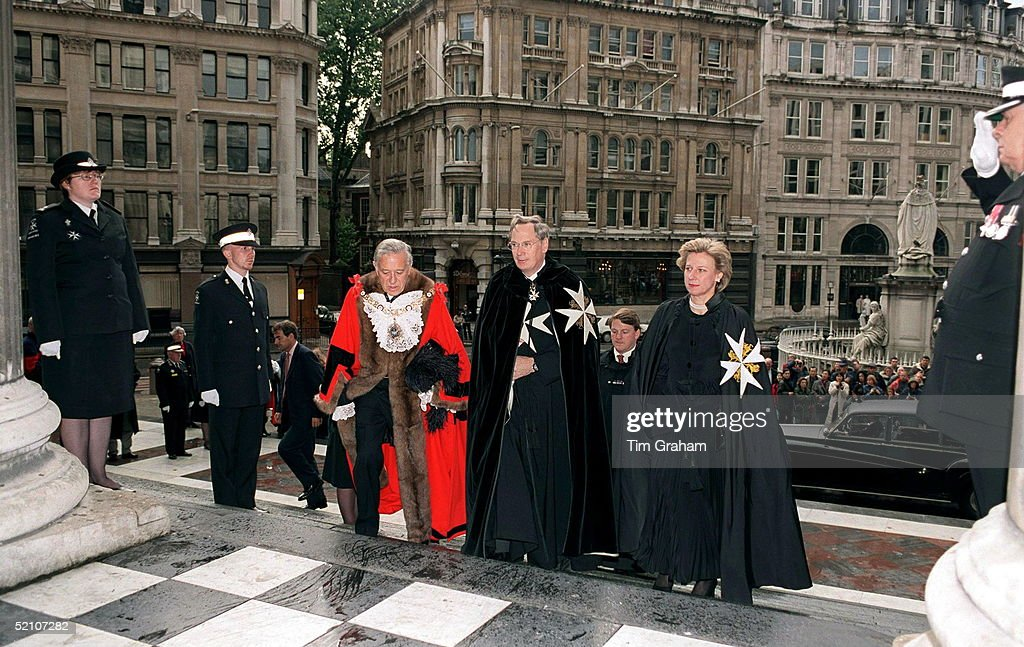 Duke And Duchess Of Gloucester Guildhall : News Photo
