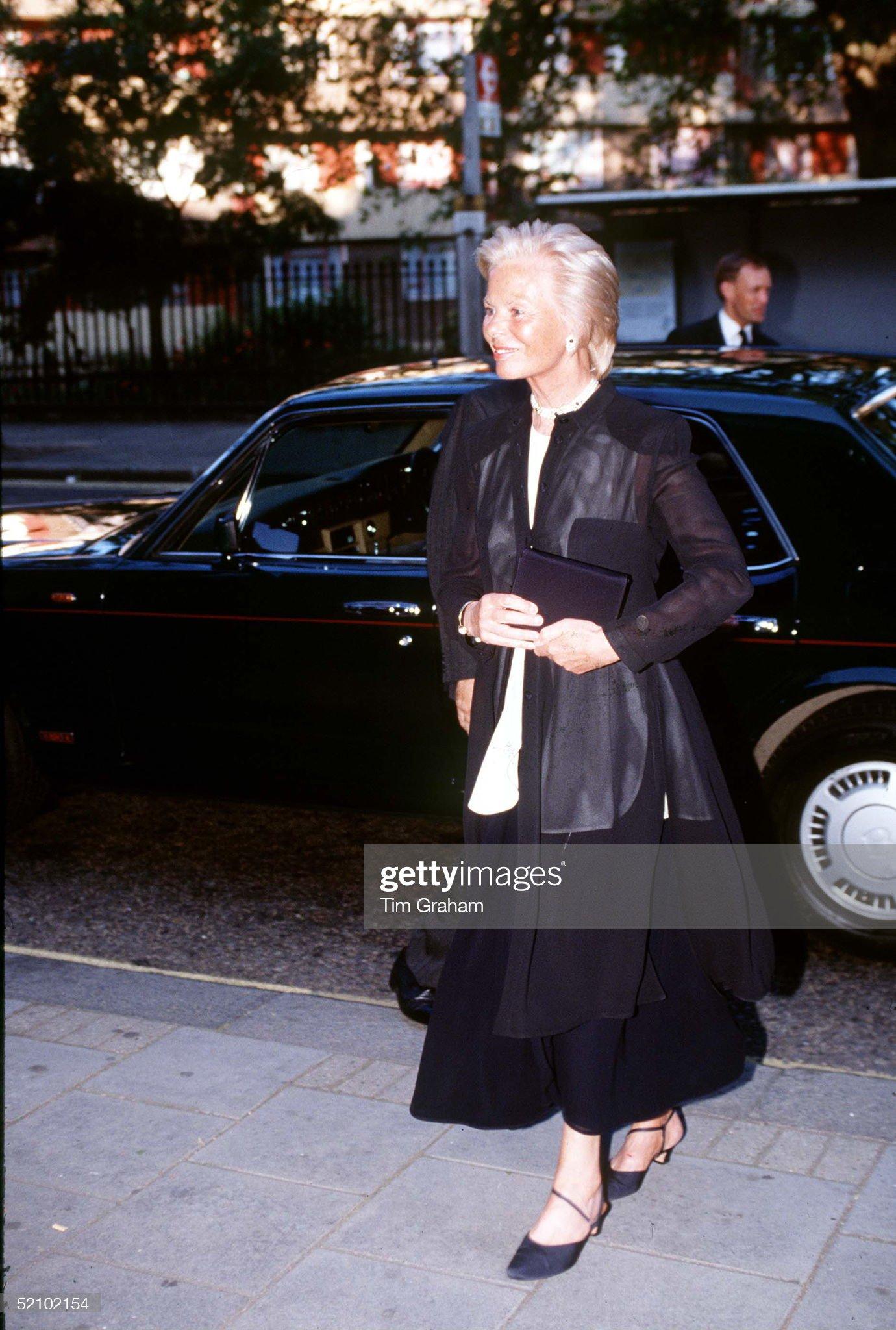 Duchess Kent Sadlers Wells : News Photo