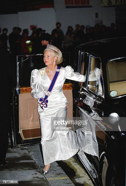 The Duchess of Kent attends a reception for the President of the Republic of Italy