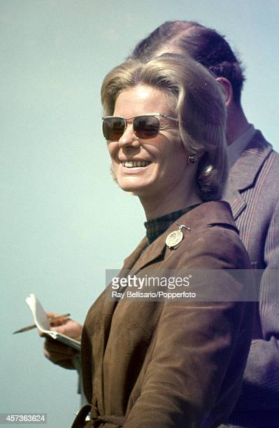 The Duchess of Kent during the Badminton Horse Trials in Gloucestershire on 20th April 1968