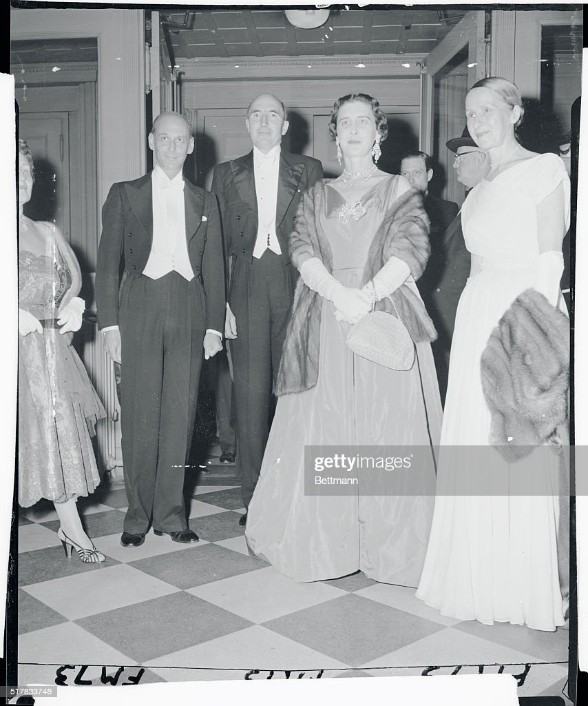 Duchess of Kent and Others Attending Premiere : News Photo