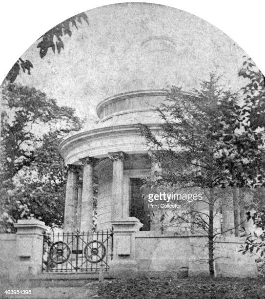The Duchess of Kent's Mausoleum Frogmore House Berkshire late 19th century Frogmore House is a 17th century country house standing at the centre of...