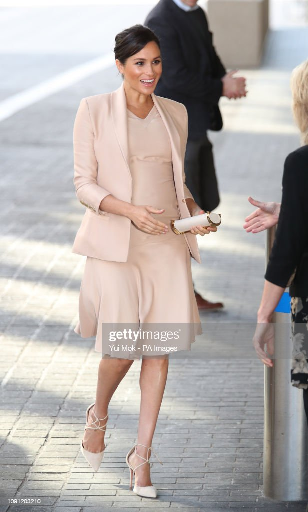 Duchess of Sussex at the National Theatre : News Photo