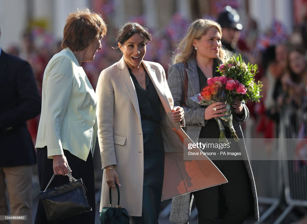 The Duke and Duchess of Sussex first official visit to Sussex : News Photo