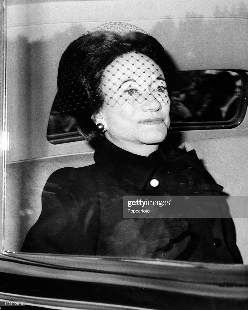 The Widowed Duchess Of Windsor : ニュース写真
