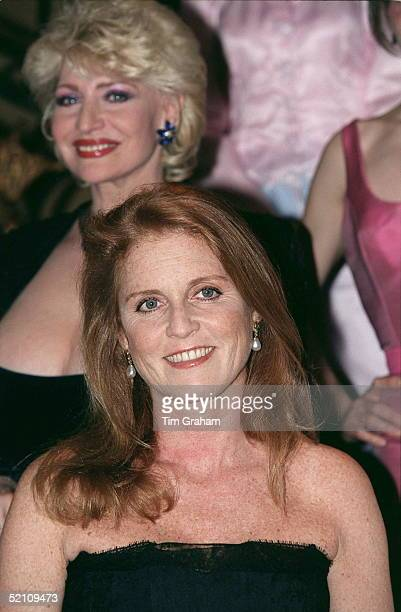 The Duchess Of York At A Celebrity Fashion Show At The Cafe Royal In Aid Of Children In Crisis Of Which She Is Patron. Fashion Designer Isabell...
