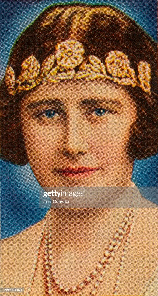 The Duchess of York at the time of her wedding, 1923 (1935). Artist: Unknown. : News Photo