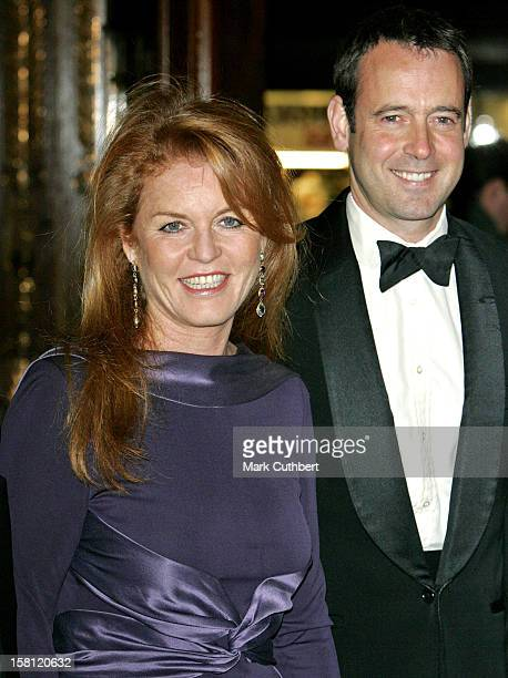 The Duchess Of York Lance Gerrard Wright Attend The Children In Crisis Extravaganza Ball At London'S Cafe Royal