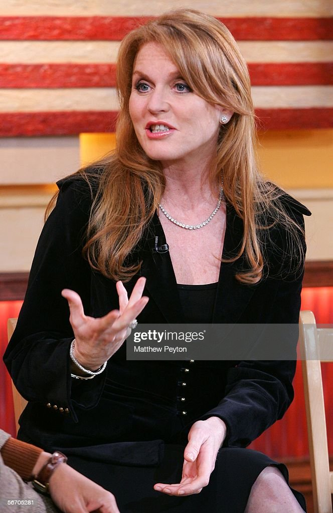 Sarah Ferguson Appears On Good Morning America Photos and Images ...