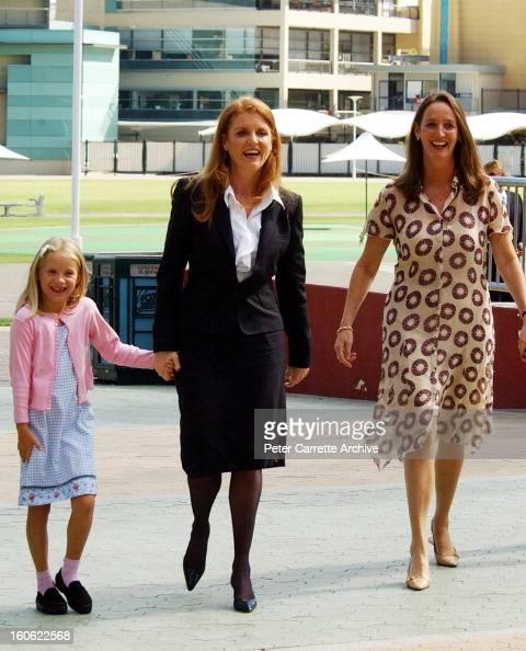 The Duchess Of York Sarah Ferguson Arrives With Her Sister