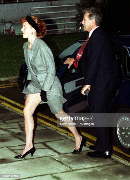 The Duchess of York Sarah Ferguson arriving for a research briefing as patron of the Motor Neurone Disease Association at the Charing Cross and...