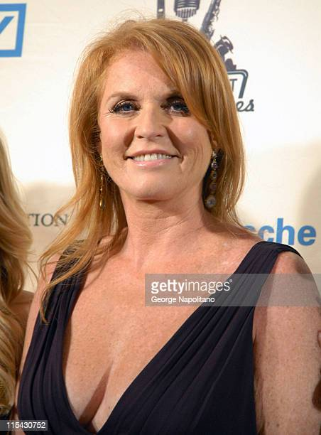 The Duchess of York Sarah Ferguson at the 2007 Cipriani Wall Street Concert Series outside arrivals at Cipriani 55 Wall Street New York