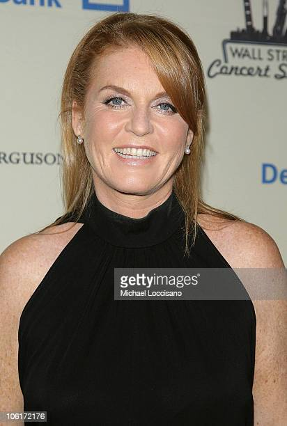 The Duchess of York Sarah Ferguson attends the Cipriani Wall Street Concert Series featuring Lenny Kravitz at Cipriani Wall Street on October 30 2007...