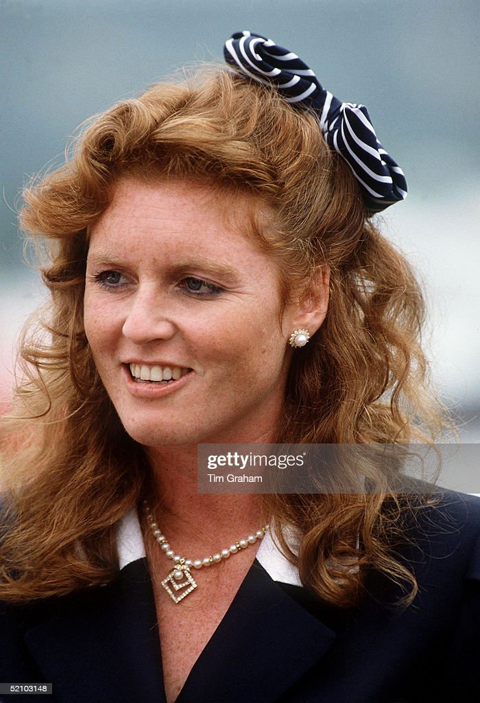 Duchess Of York Isle Of Wight : News Photo