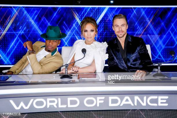 DANCE The Duels 4 Episode 307 Pictured NeYo Jennifer Lopez Derek Hough