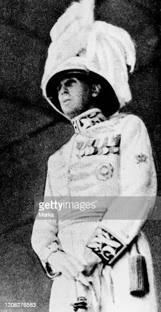 The Duke Amedeo d'Aosta in the official uniform of Viceroy of Ethiopia, Ethiopian War, 1937.