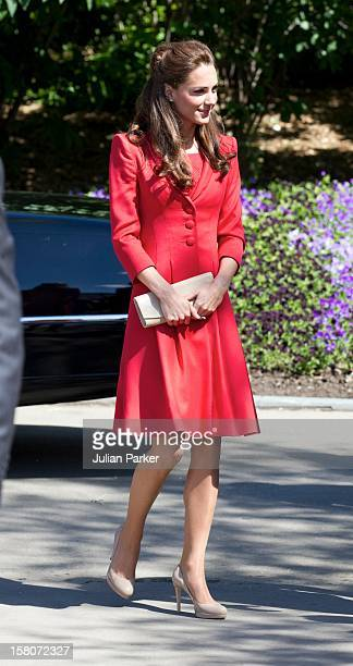 The Duke And Duchess Attend A Government Of Alberta Reception At The Enmax Conservatory At Calgary Zoo Calgary Alberta