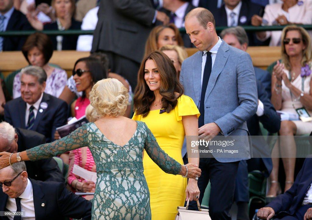 Wimbledon 2018 - Day Thirteen - The All England Lawn Tennis and Croquet Club : News Photo