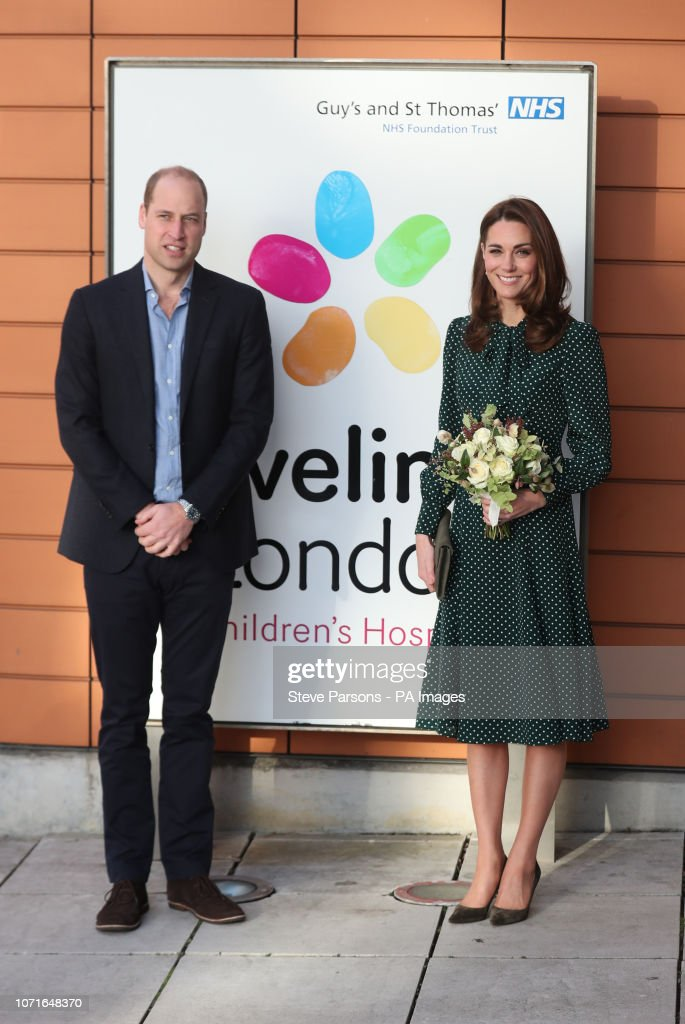 Royal visit to Evelina Children's Hospital and The Passage : News Photo