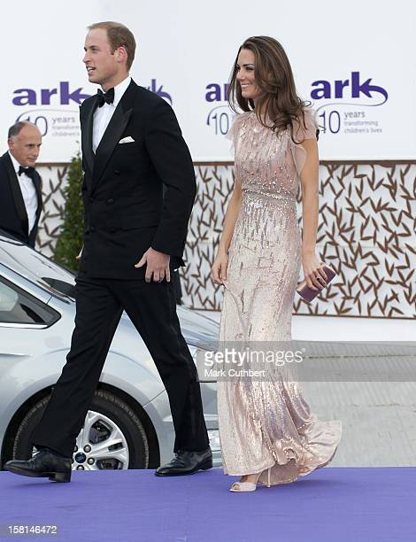 The Duke And Duchess Of Cambridge Arrive At The 10Th Annual Ark Gala Dinner At Kensington Palace In Kensington London