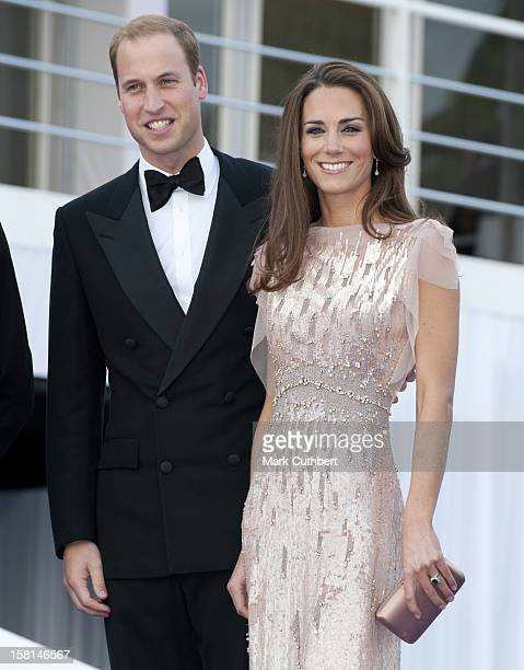 The Duke And Duchess Of Cambridge Arrive At The Ark Gala Dinner In London