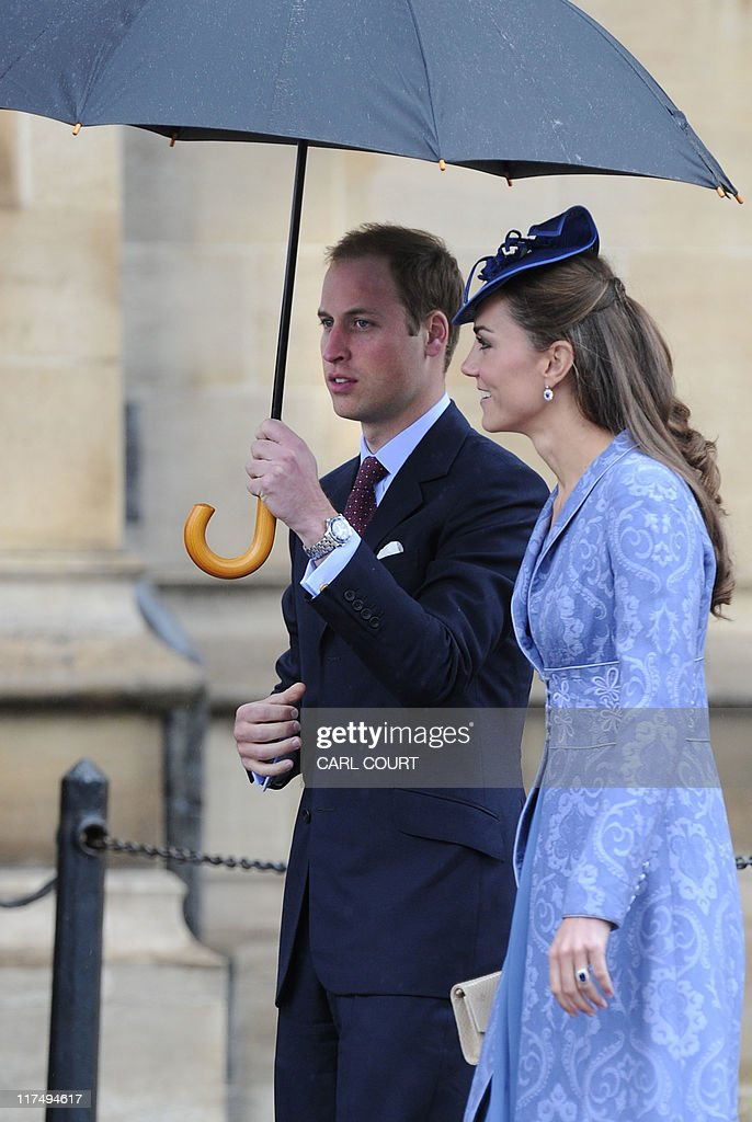 The Duke and Duchess of Cambridge arrive : News Photo