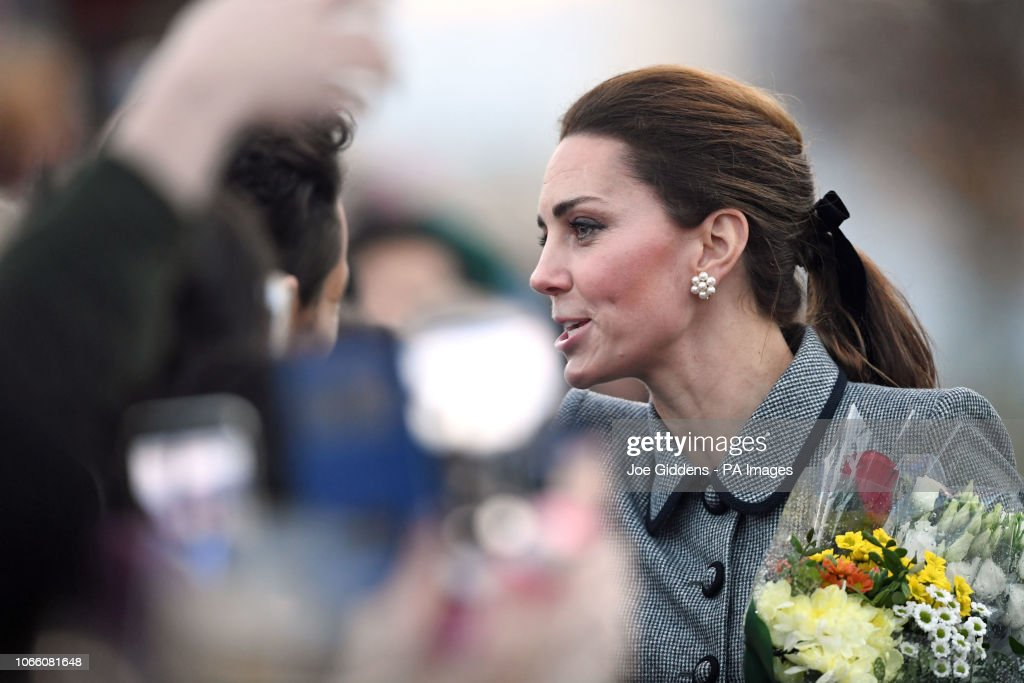 Duke and Duchess of Cambridge visit Leicester : News Photo