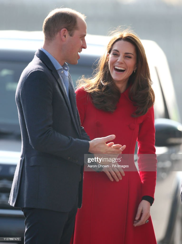 Duke and Duchess of Cambridge visit to NI - Day 1 : News Photo