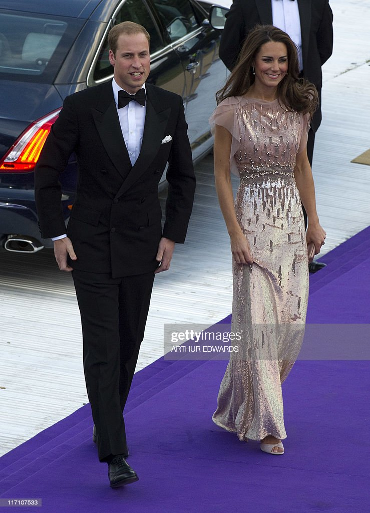 The Duke and Duchess of Cambridge attend : News Photo