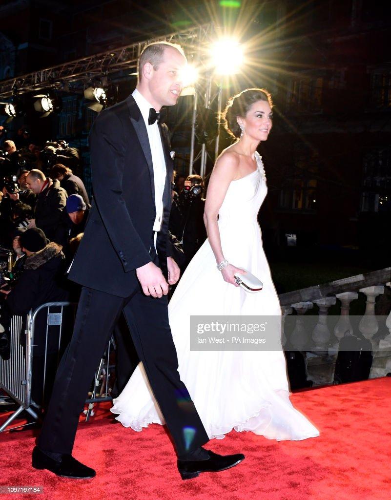 EE British Academy Film Awards 2019 - Arrivals - London : News Photo