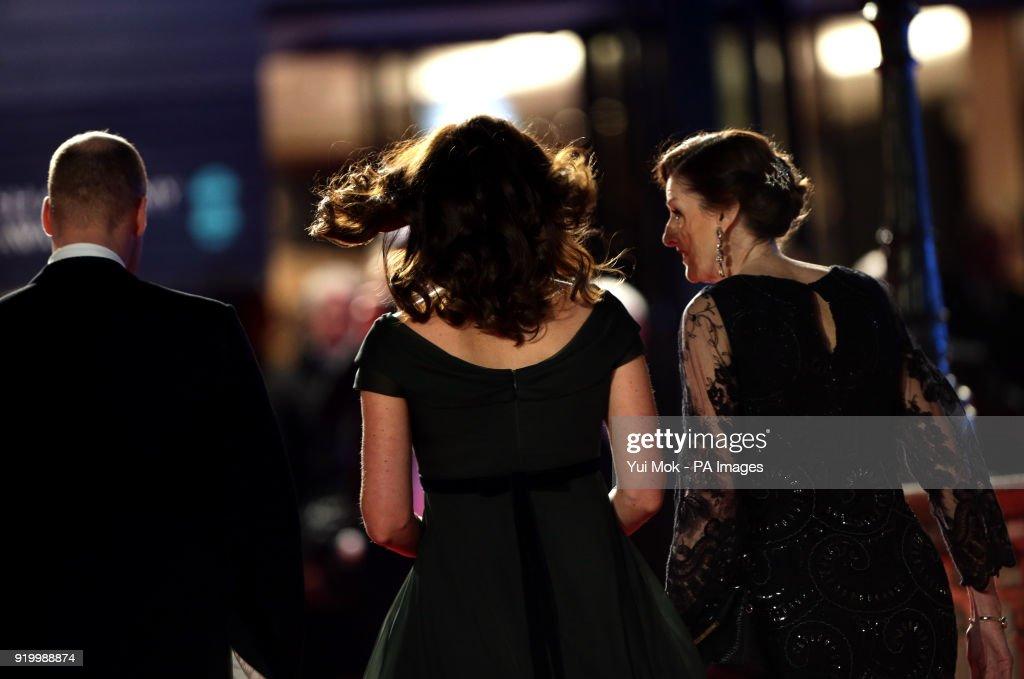 BAFTA Film Awards 2018 - Arrivals - London : News Photo