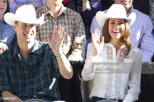 The Duke And Duchess Of Cambridge On Their Official Tour Of CanadaThe Duke And Duchess Start And Watch The Calgary Stampede Parade In Calgary Alberta