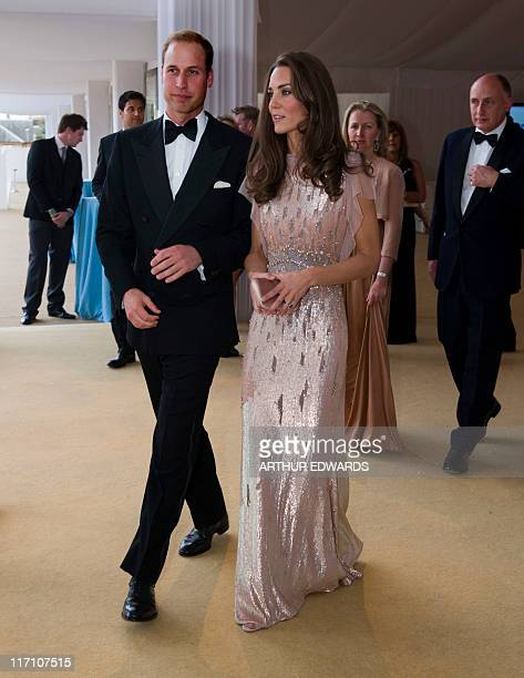 The Duke and Duchess of Cambridge, Prince William and Catherine, attend the 10th Annual Absolute Return for Kids Gala Dinner on behalf of the...