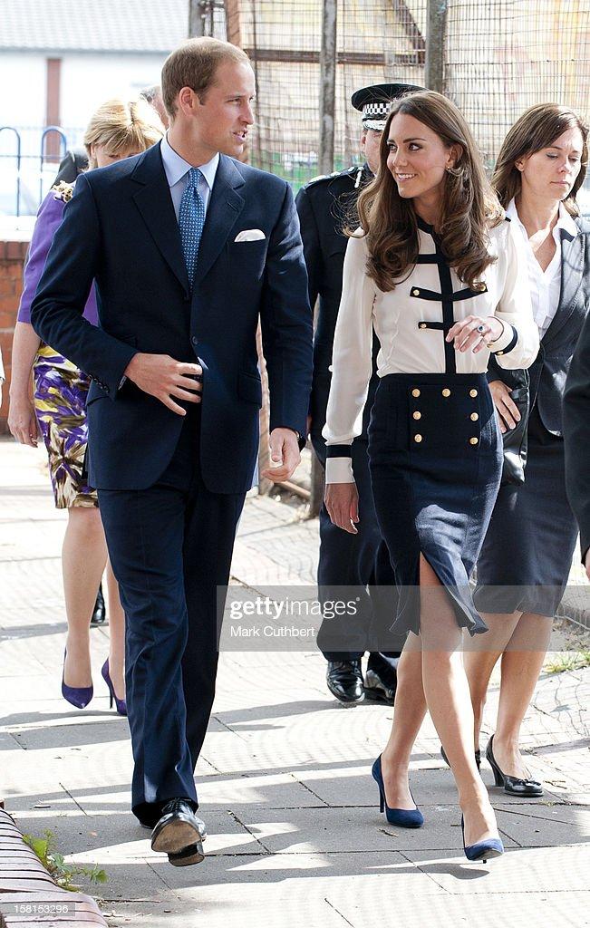 Royal Couple Visit Birmingham : News Photo
