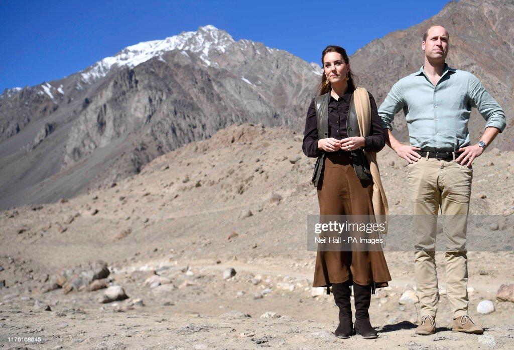 Royal visit to Pakistan - Day Three : News Photo