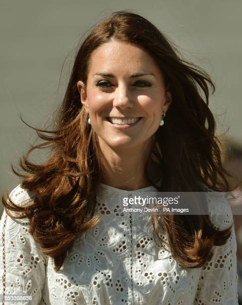 The Duke and Duchess of Cambridge visit the Royal Easter Show at Sydney Olympic Park during the twelfth day of their official tour to New Zealand and...