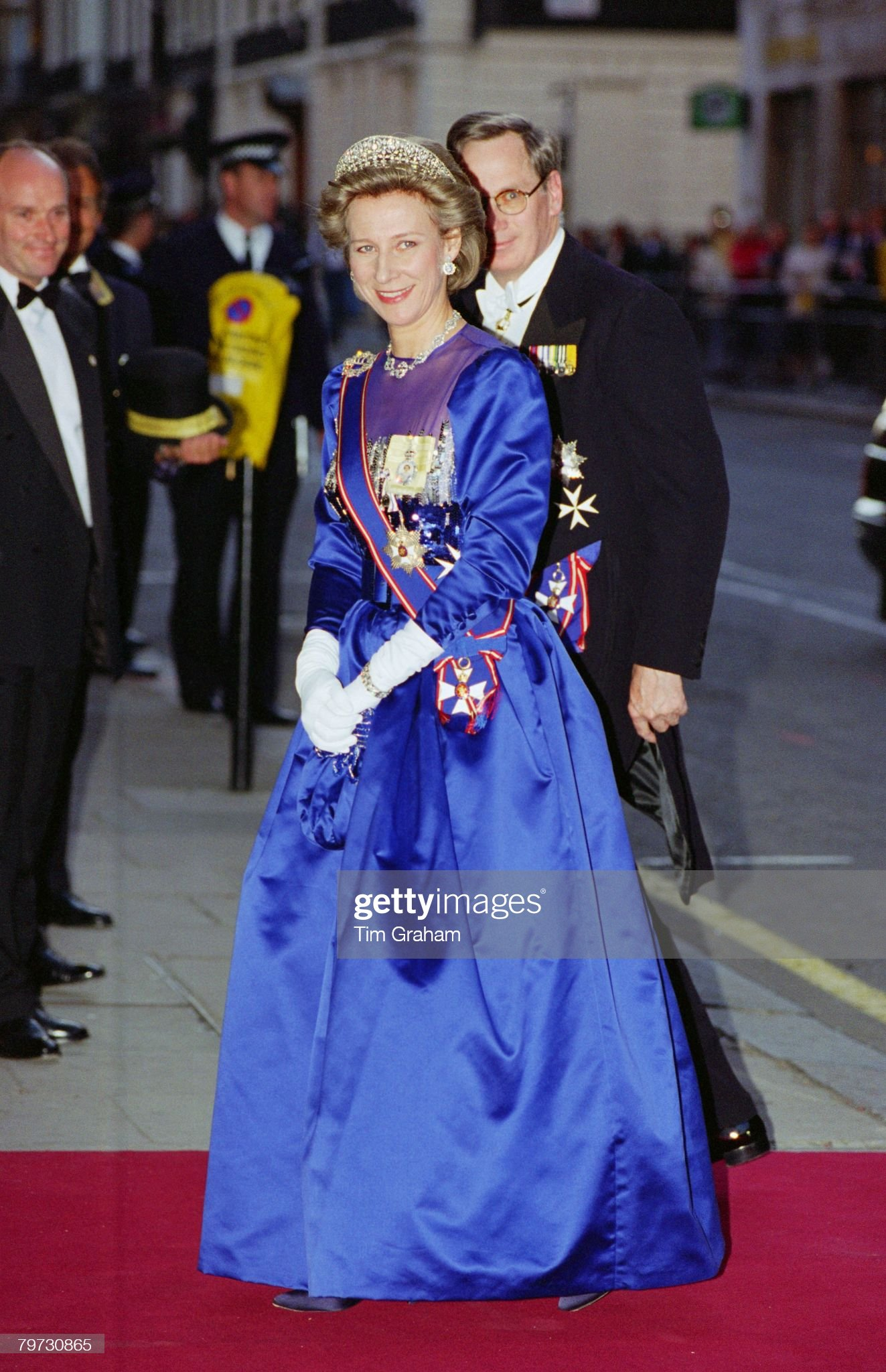 The Duke and Duchess of Gloucester arrive for The Amir of Ku : News Photo
